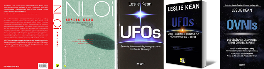 Translated editions of UFOs on the Record book