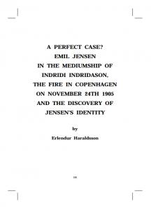 Erlemdur Haraldsson'e original paper on drop-in communicator Emil Jensen