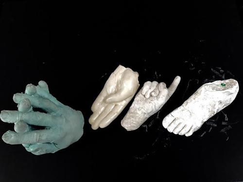 The four molds I was able to see and touch.